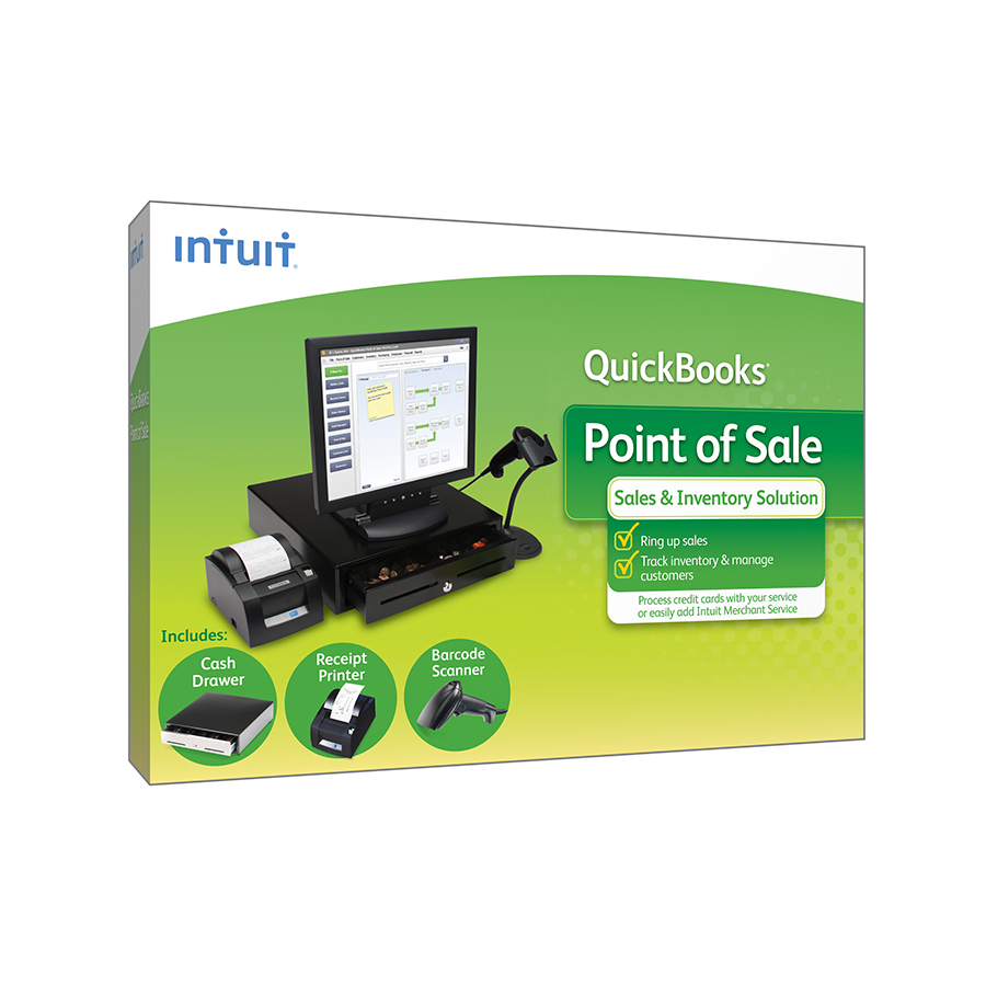 QuickBooks POS Basic V18 (1-User) With Hardware