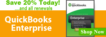 QuickBooks Enterprise 20% Off!