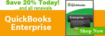 QuickBooks Enterprise 20% Off!